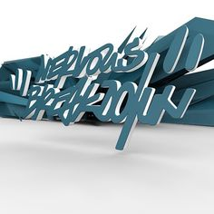Today trial & Error with #cinema4d #affinitydesigner and so on. Working title #nervousbreakdown Love it to extrude letters from 2D to 3D. #tagstyle #digitaldesign #digitalgraffiti #graffitisketch #graphic #graffiti #3d #pure #lovelife