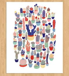Cactus Art Print by Cactus Club via ScoutMob