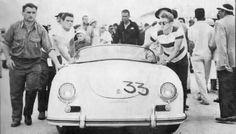 J.Dean, Carrera circuito de Santa Bárbara (28-29 de mayo, 1955)