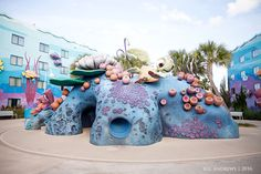 Disney World | Art of Animation | Finding Nemo | Family Suites | Photography