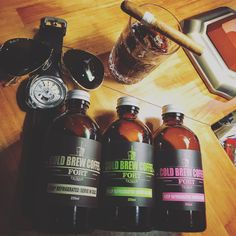 Fort Cold Brew  Coffee Cold Brew, Whiskey Bottle, Brewing, Coffee, Drinks, Food, Drinking, Beverages, Meal