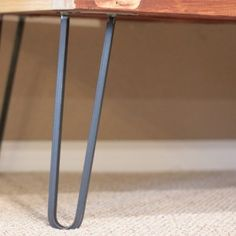square bar hairpin legs