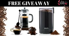 Love Coffee? Here's a cool giveaway to win a coffee press and grinder combo by Stiletto Coffee! http://upvir.al/ref/I4148518