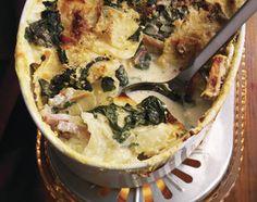 Gratin de pommes de terre et de blettes - Base de recettes - Swissmilk