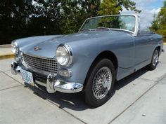 1967 Austin Healey Sprite. . . .this would be FuN to drive!!