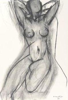 Nu dan un fauteuil 1950, by Henri Matisse  https://www.artexperiencenyc.com/social_login/?utm_source=pinterest_medium=pins_content=pinterest_pins_campaign=pinterest_initial