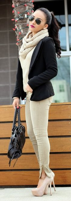 The Shoes Paired With The Skinnies Elongate Her Legs. Remember That Tip Ladies