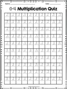 math worksheet : 1000 ideas about multiplication test on pinterest  : Free Timed Multiplication Worksheets
