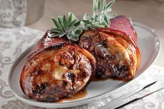 Cooking for Special Occasions Greek Recipes, Pork Recipes, Cooking Recipes, The Kitchen Food Network, Christmas Cooking, Christmas Ham, Home Food, Pork Dishes, Dessert