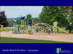 Austin Park in Skaneateles, NY 5-12 Play Area