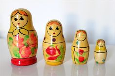 Why I love nesting dolls, I'll never know.