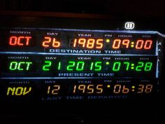 I pinned this photo over two years ago to counter another round of hoax posts. Now, Oct 21, 2015 is actually here and soon to be over. End of an era. ★Pass it on: The real Back to the Future date Oct 21, 2015. You can even see my pause symbol. #truth #backtothefuture