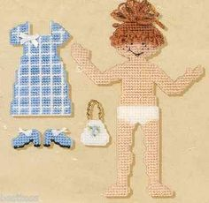 Dress-Up-Molly-Quick-Count-Plastic-Canvas