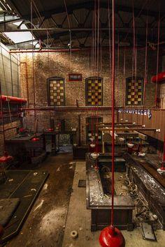 An abandoned bar in Pennsylvania.