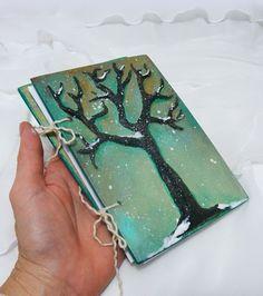 Genealogy gift handmade notebook