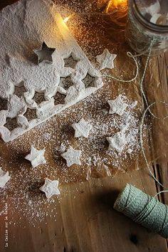 Christmas marshmallows.