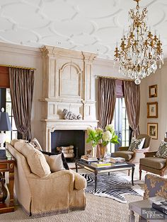 If you love classy and elegant style you'll love these gorgeous rooms. These rooms are packed full of elegant charm and vintage touches. Get inspired by these fancy high-end rooms full of polished style.