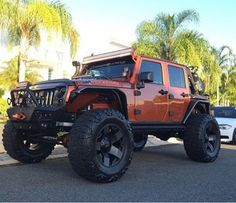 Jeep Suv, Jeep Cars, Jeep Truck, Orange Jeep Wrangler, Jeep Wrangler Rubicon, Jeep Wranglers, Custom Jeep, Custom Cars, Jeep Brand