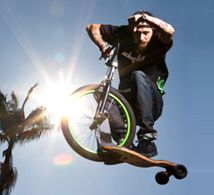 The Sbyke. The worst-ever amalgamation of bmx bike and skateboard.