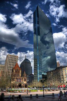 John Hancock Tower in Boston, MA