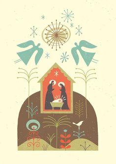 Nativity by Tracy Walker.