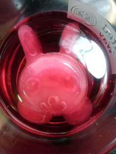 Fruit juice ice cubes. Your kids will drink the juice every time