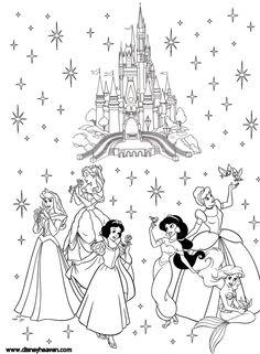 Disney Princess Coloring Pages Princess Coloring Pages Online