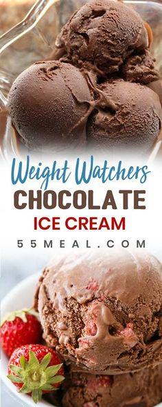 Weight Watchers Chocolate Ice Cream