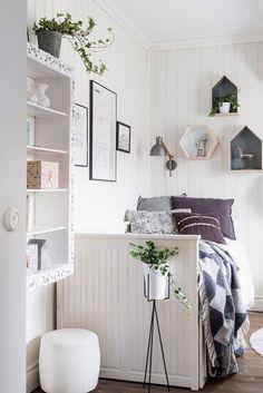 Scandinavian Interior With Character 36 Room Ideas Bedroom, Diy Room Decor, Bedroom Decor, Home Decor, Kids Bedroom, Small Bedroom Designs, Scandinavian Interior Design, Awesome Bedrooms, Dream Decor