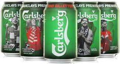 Rexam produces football cans for Carlsberg Denmark