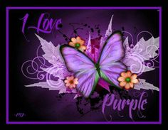 I love purple.