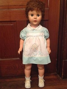 Reliable-Patti-PlayPal-and-Saucy-walker-type-doll-32-1961-Mary-Anne