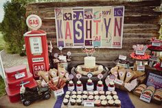 "Photo 1 of 33: Vintage Car's / Birthday ""Kash's 3rd Vintage Car Birthday"" 