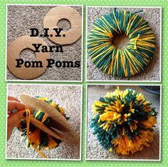 The Family McShane: D.I.Y. Yarn Pom Poms