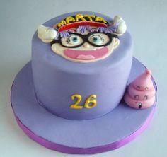 tarta de cumpleaños para Marta/Arale https://www.facebook.com//Monsucre