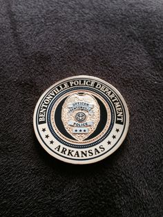 Bentonville Police Department badge/patch