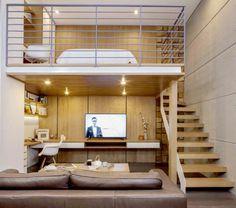 34 Meilleures Images Du Tableau Lit Mezzanine Bureau Lofted Beds