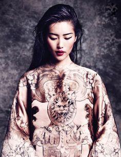 Liu Wen For Vogue Thailand