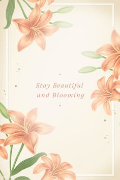 Hand drawn lily frame template mockup | premium image by rawpixel.com / manotang Frame Template, Templates, Free Illustrations, Flower Illustrations, Orange Background, Watercolor Pattern, Flower Frame, Background Patterns, Vintage Flowers