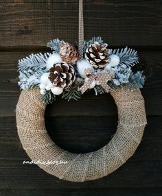 Christmas Wreaths, Xmas, Burlap Wreath, Decorations, Holiday Decor, Home Decor, Decoration Home, Room Decor, Christmas