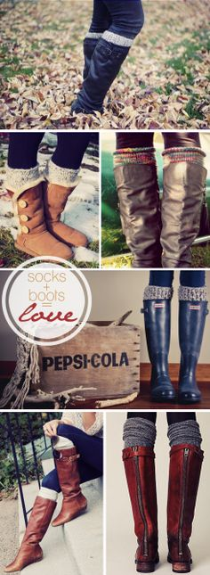 Fashion: Leg Warmers + Boots #falltrends