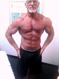 Ed Cook - 57 years old - got serious about working out when he was 48.