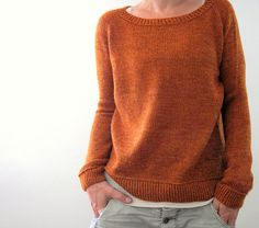 ...p﹥so happy with my second Jih…finally an orange sweater - just for me!!! did a twisted ribbing instead of the sewn hem and looooove how it turned out (we added the twisted ribbing option to the pattern, too) the...