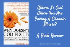 Where Is God When You Are Facing A Chronic Illness? A Book Review