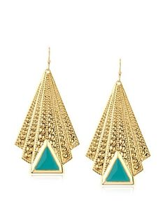 55% OFF a.v. max Enamel Deco Drop Earrings