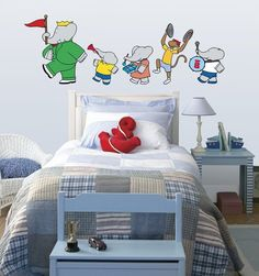 I would love a Babar nursery. I would love everything Babar...