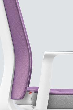 PURE INTERIOR Edition 10 #Lila. Mehr Design für dein #HomeOffice. Mit einer vielfältigen und hochwertigen Stoffauswahl und ihrem ergonomischen Design vereint die PURE INTERIOR Edition bequemes und ergonomisches Sitzen. Das Design und die Farbgebung des PURE machen ihn zu einem optischen Leichtgewicht. Farblich abgestimmt bringt er sich in das Home Office ein und kann sich gleichzeitig zurücknehmen. #schreibtischstuhl #design #interiordesign #Stoff #ergonomie #interstuhl Home Office, Pure Home, Interiordesign, Fitbit Flex, Designer, Pure Products, Lilac, Office Home, Home Offices