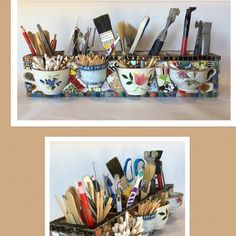 New Diy Art Room Storage Creative Crafts Ideas Mosaic Glass, Mosaic Tiles, Glass Art, Stained Glass, Tiling, Mosaic Mirrors, Mosaic Crafts, Mosaic Projects, Art Projects