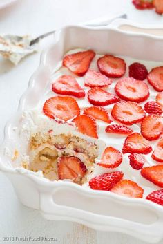 Aardbeien tiramisu voor een sprankje zomer | Simone's KitchenSimone's Kitchen