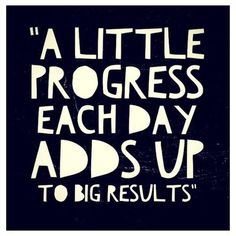 Total Body Transformation: A little progress each day adds up to big results! Start today.